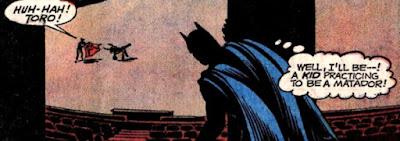 Brave and the Bold #96, Batman Toro