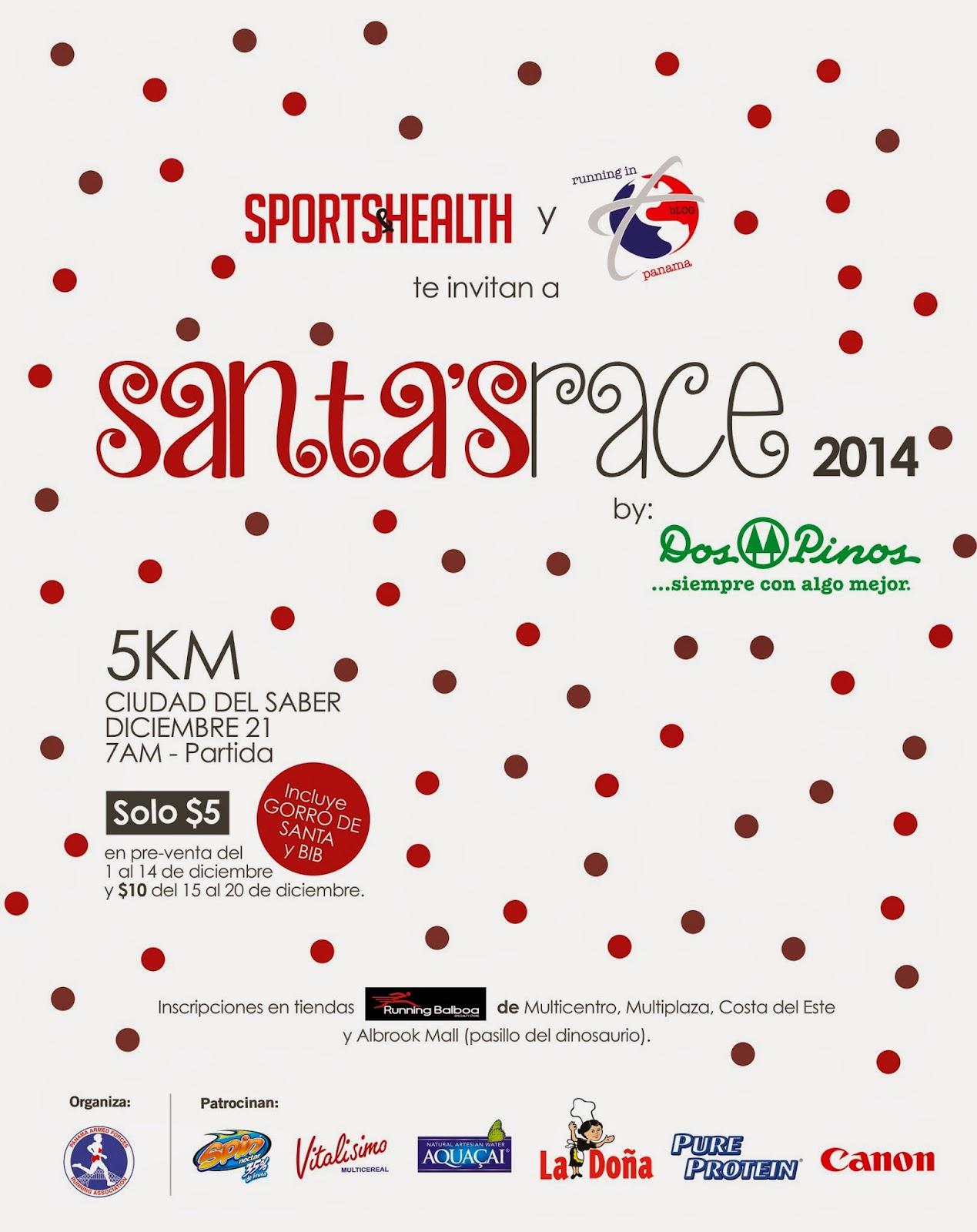 Carrera Santas Race