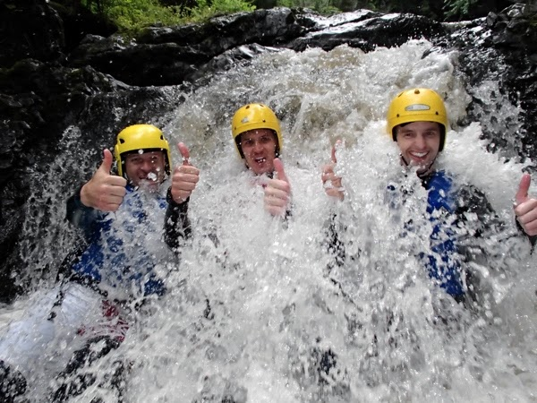 Stag Party Canyoning