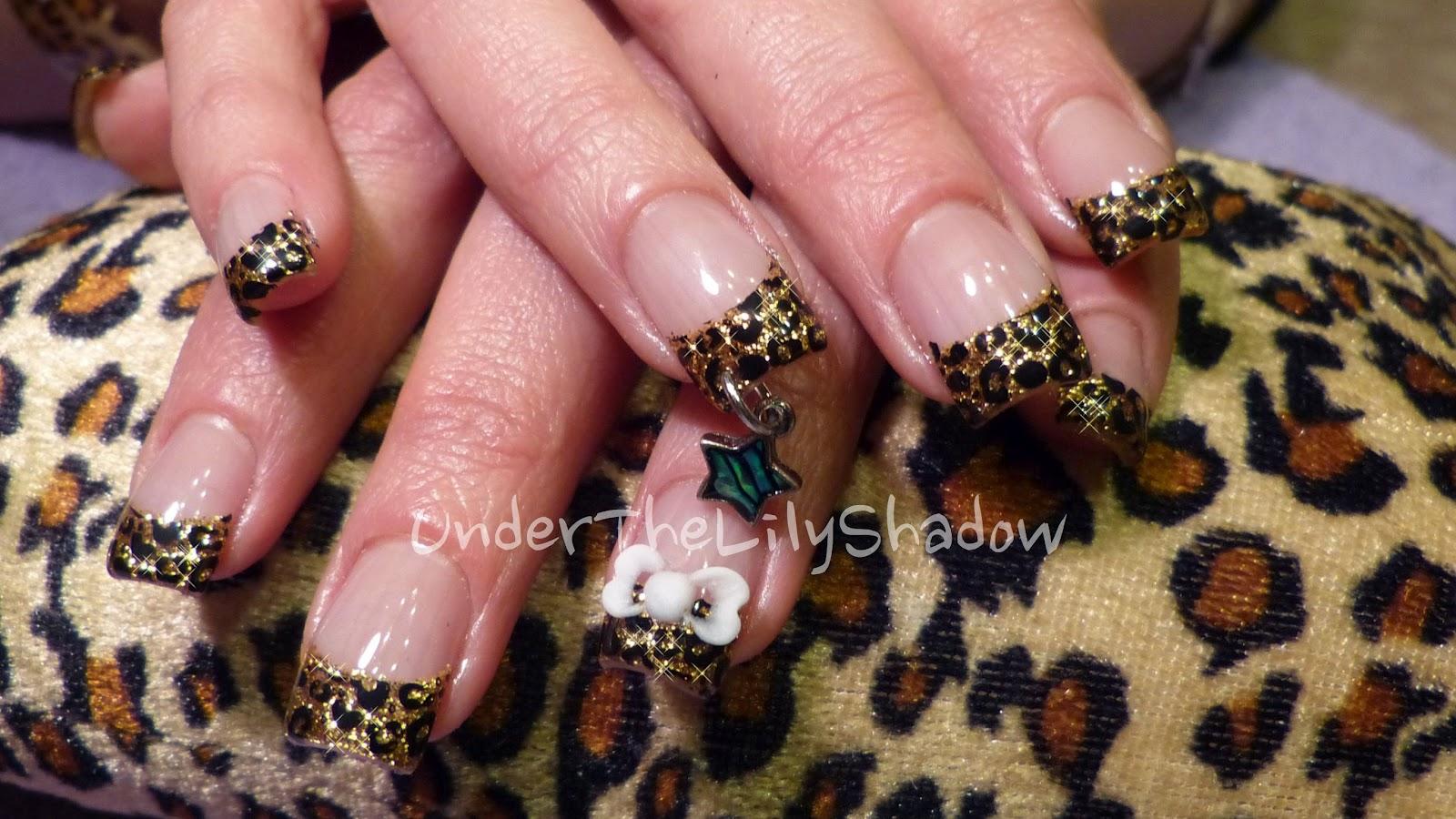 Cozy 25 Stunning Leopard Print Acrylic Nail Designs Ledufacom