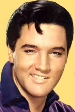 Imagen del rostro de Elvis Presley