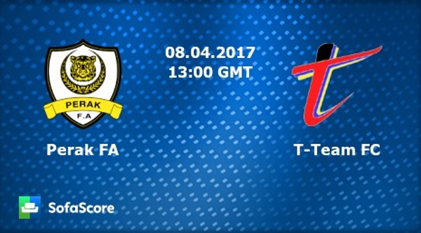 Live Streaming Perak Vs T-Team Liga Super [8.April.2017]