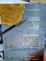 MENYIKAP SEJUTA PERMASALAHAN DALAM FATH AL-QARIB