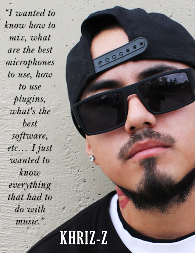Q&A w/ SoCal artist Khriz-Z about the Advantages of being a Bilingual Rapper