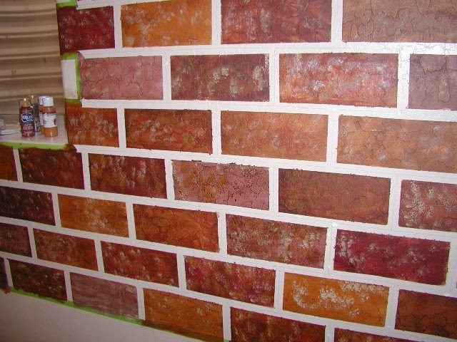 Indoor Brick Wall Painting Ideas Wall Painting