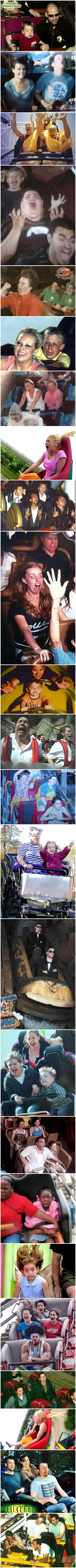 Funny Roller Coaster Rides Picture Collection