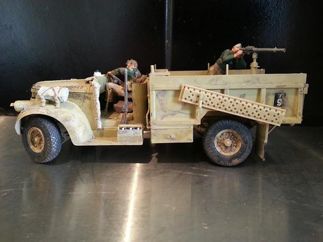 1/35 model Tamiya LRDG Chevrolet truck