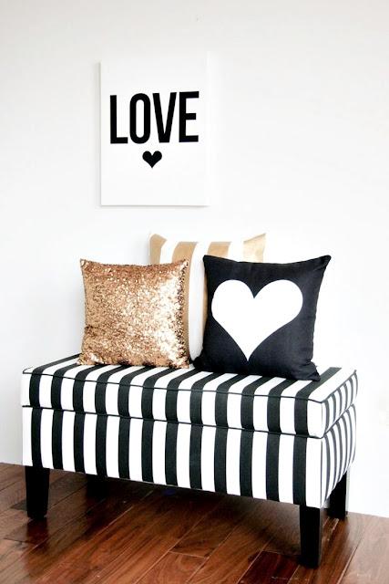 dicas para uma decoração preto e branco incrível
