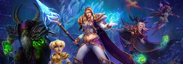La pelea de Héroes of storm de la semana es Guerra de magos
