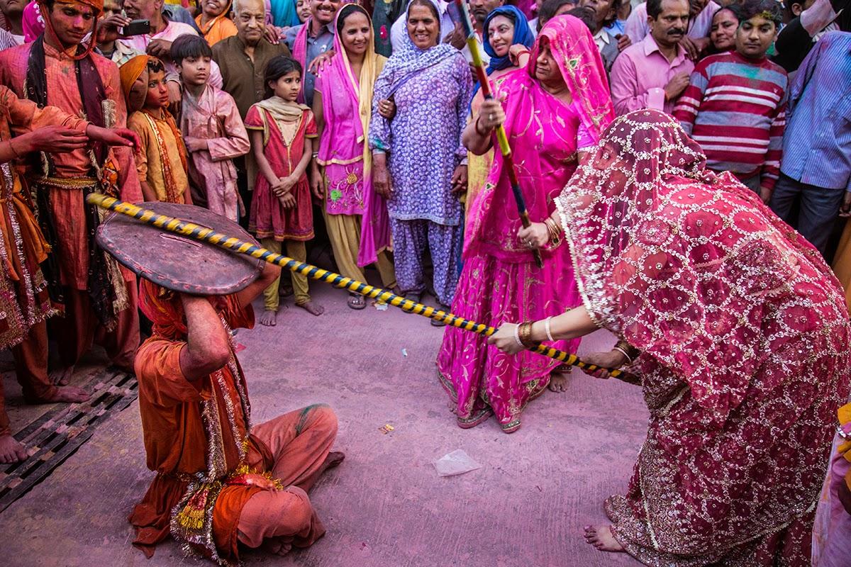 Image result for barsana holi celebration