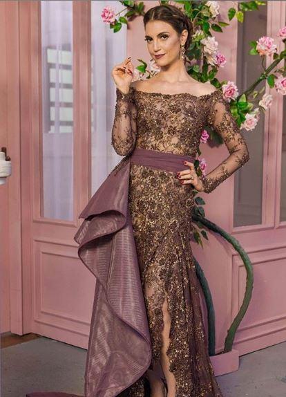 Cris Flores vestido fabrica