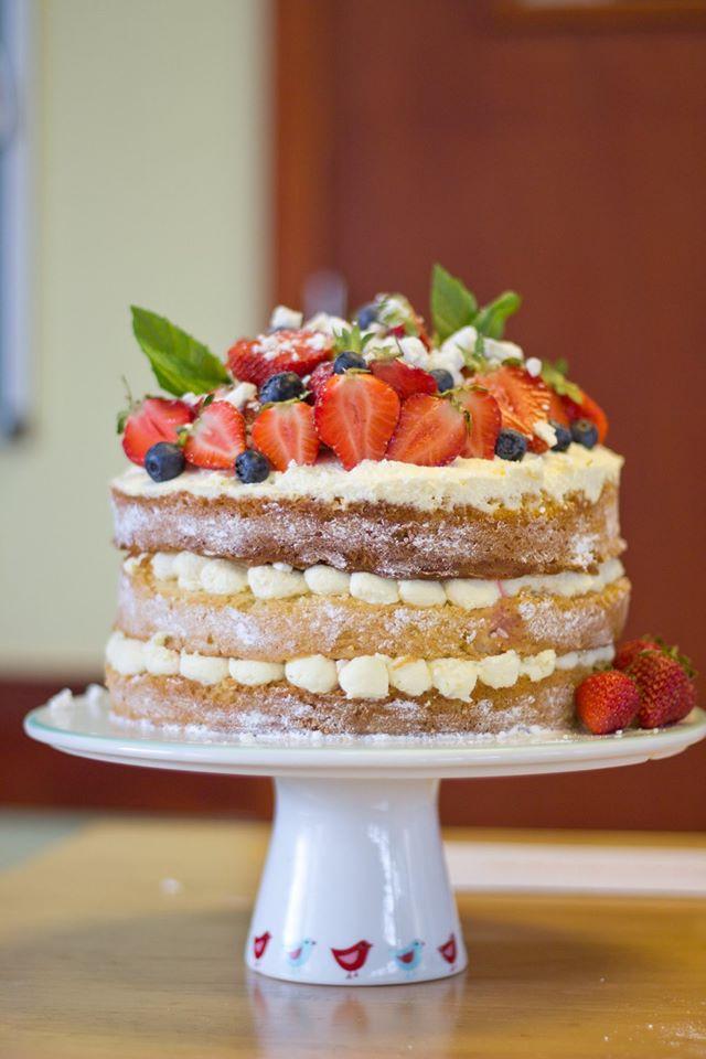 Triple Layer Eaton Mess Cake