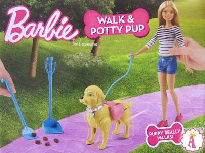 Новый набор с куклой Барби и какающей собачкой