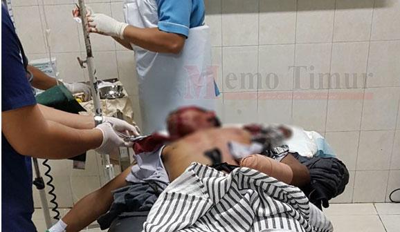 Kondisi korban dirawat di RSUD dr. Haryoto