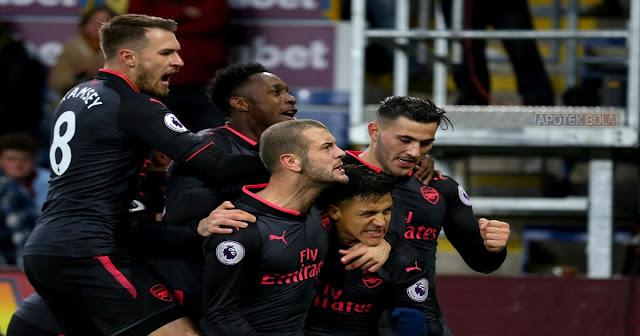 Burnley vs Arsenal 26 November 2017