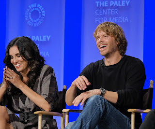 Interviews: 'NCIS: Los Angeles' cast members Daniela Ruah and Eric Christian Olsen at PaleyFest 2017