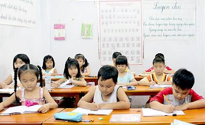 Lớp luyện chữ đẹp tại gia sư Biên Hòa Thông Thái