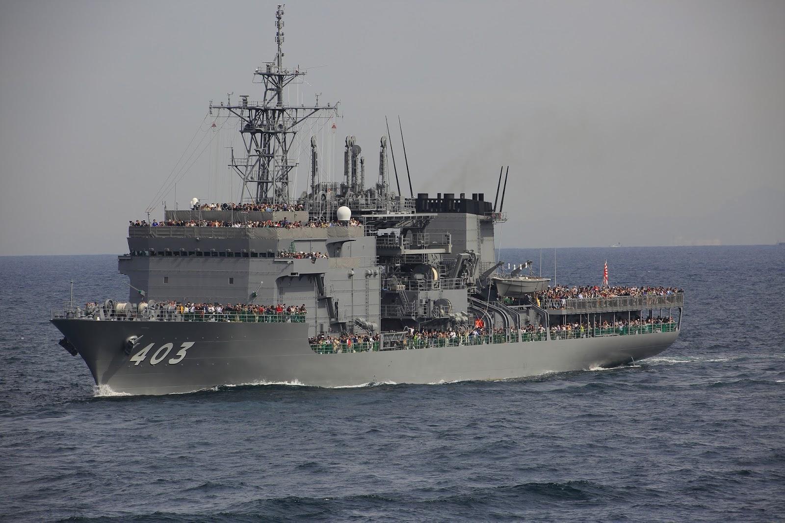 ASR 403 ちはや 潜水艦救難船