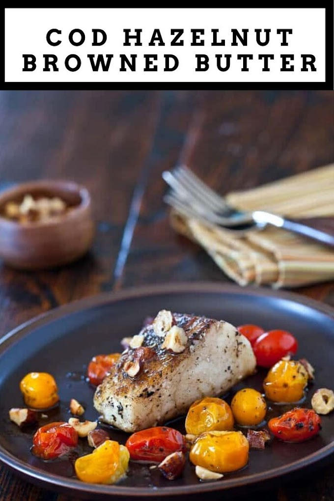 Cod Fish with Hazelnut Browned Butter Recipe
