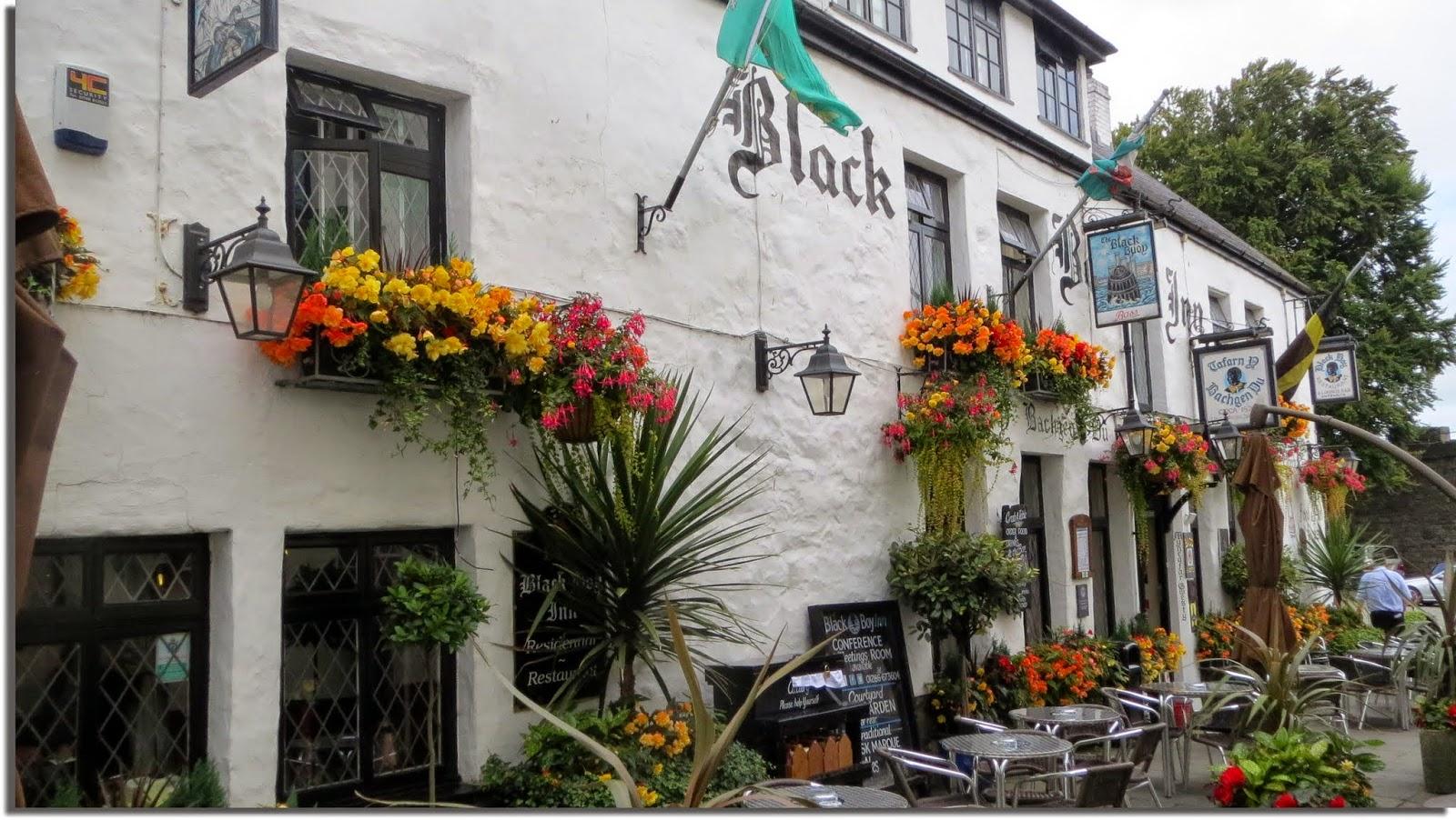 Pub en Caernarfon. Gales. Wales