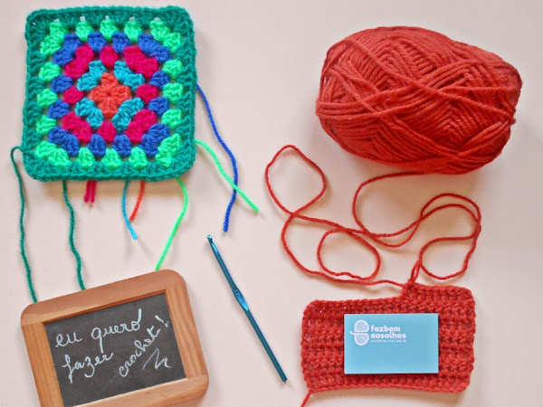 Eu quero fazer crochet! # 1ª sessão