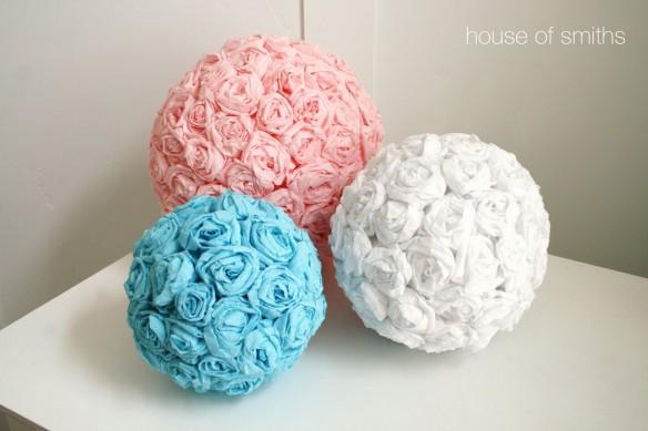 Valentine S Day Ideas Tissue Paper Flower Tutorial