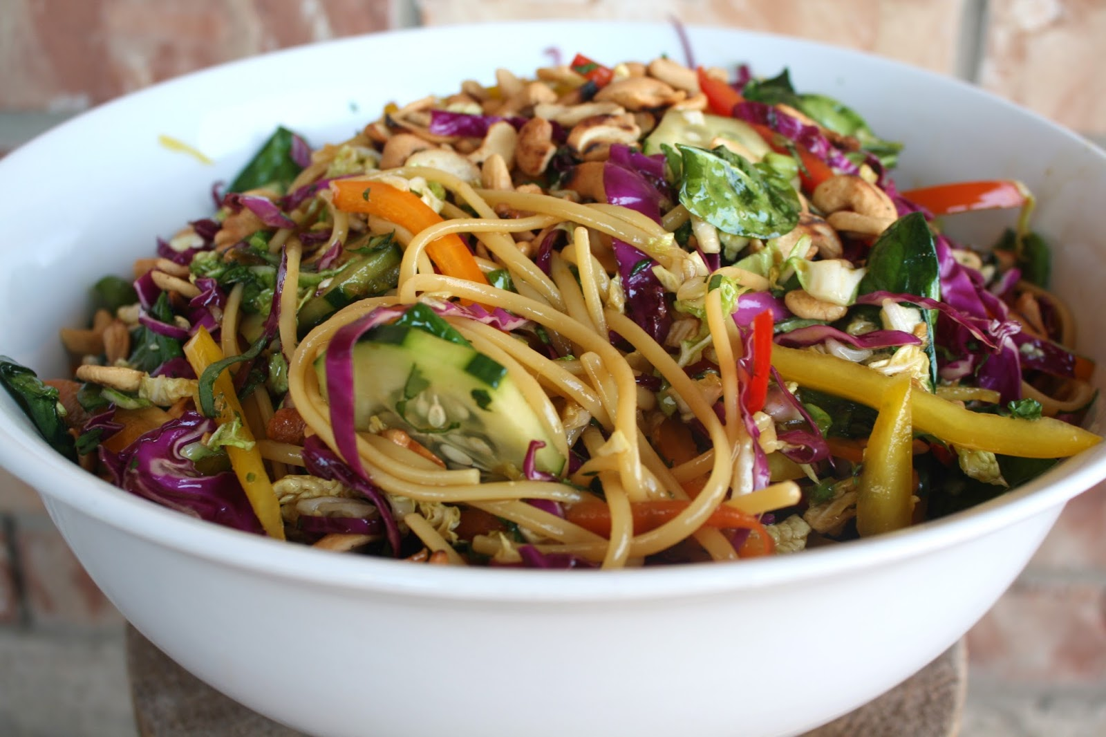 what's for dinner?: asian noodle salad... 30 minutes