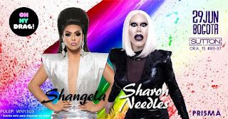 FIESTA Oh my Drag! con Sharon Needles y Shangela en Bogotá