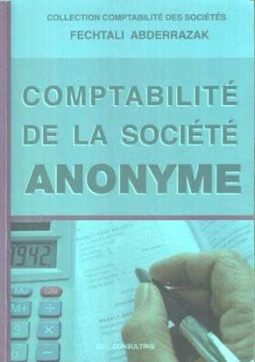Comptabilité de la société anonyme - fechtali abderrazak