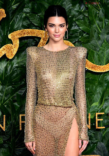 Kendall Jenner Slim  Goes  At British Fashin Show 2018 WOW     small  slim figure CEleBrity.co Exclusive 009