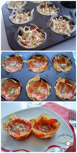 PIZZA DE PASTA FILO
