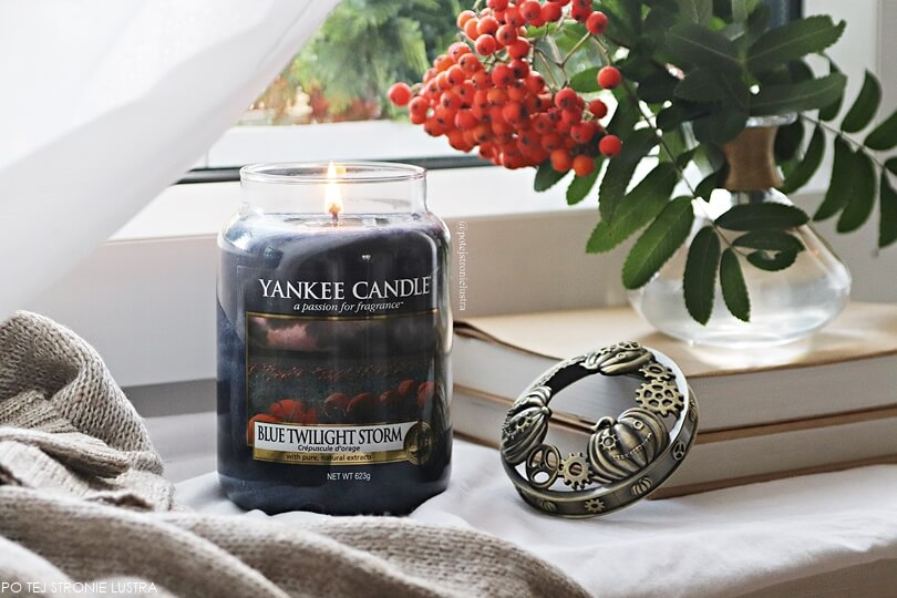 yankee candle blue twilight storm recenzja blog