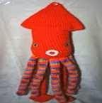 Calamar, Squid, Amigurumi
