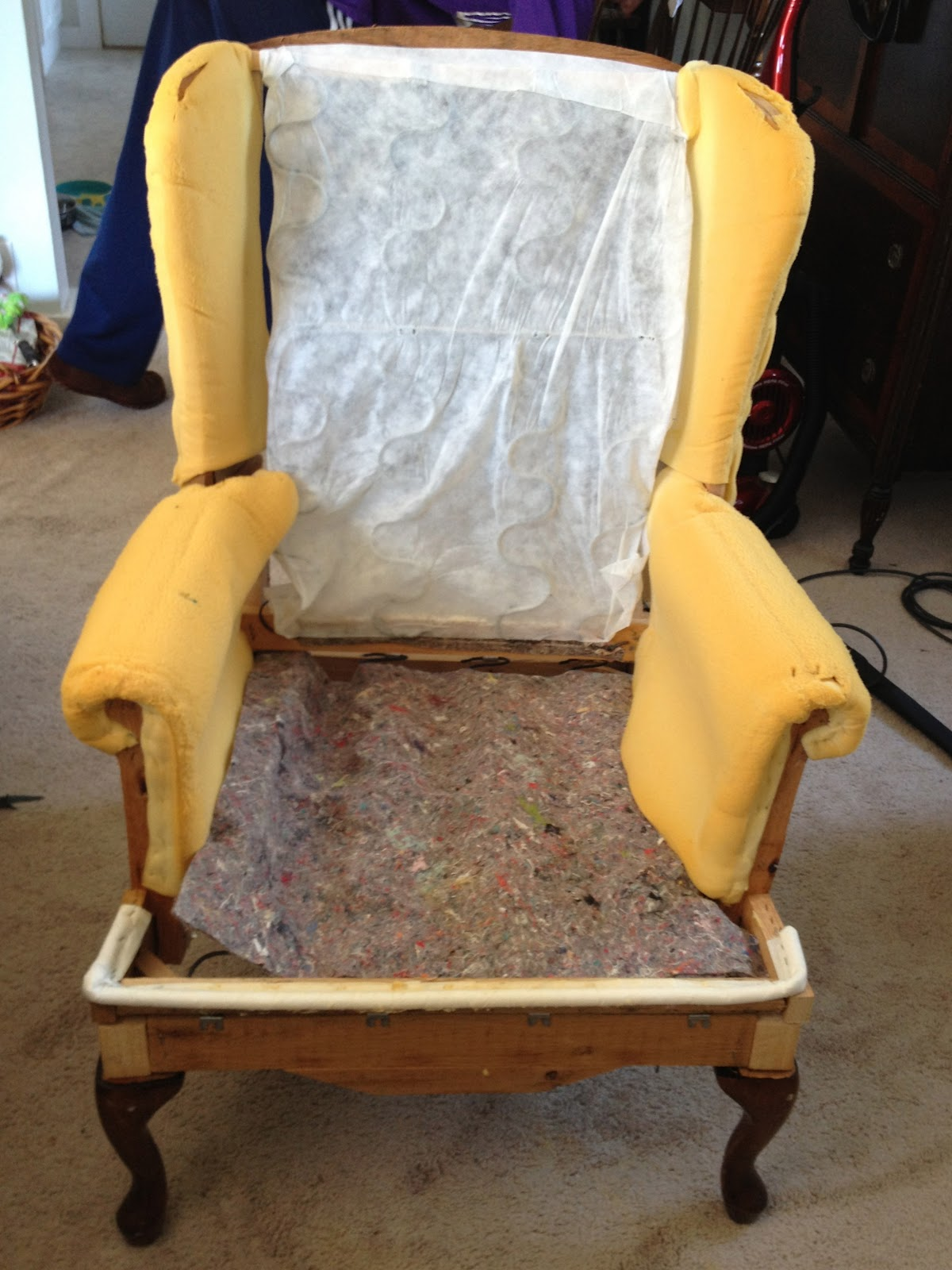 toddler wingback chair ergonomic office jakarta make bake and love re upholstering a wing back