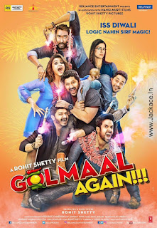 Golmaal Again First Look Poster