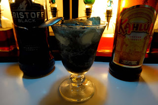 fantasma negro coctel vodka