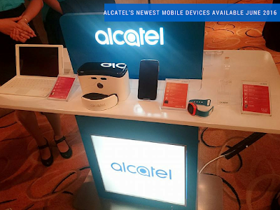 Alcatel's Newest Range Of Mobile Devices Available June 2016