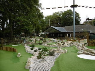The Putt in the Park course at Battersea Park in London