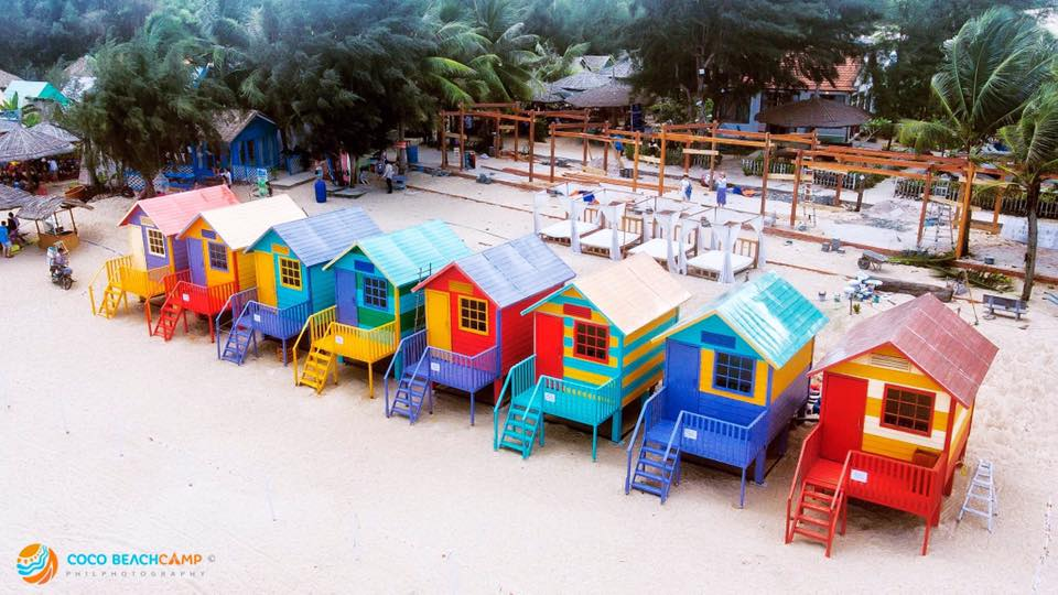 Area Of Beach Hut Is 10 Square Meters