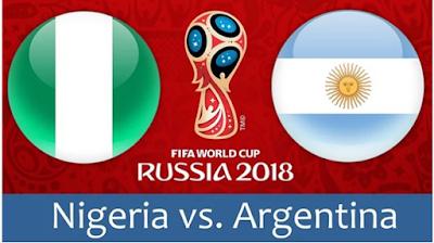 موعد عرض  مباراة الارجنتين ونيجيريا بتاريخ 26-06-2018 كأس العالم 2018 والقنوات الناقلة لها