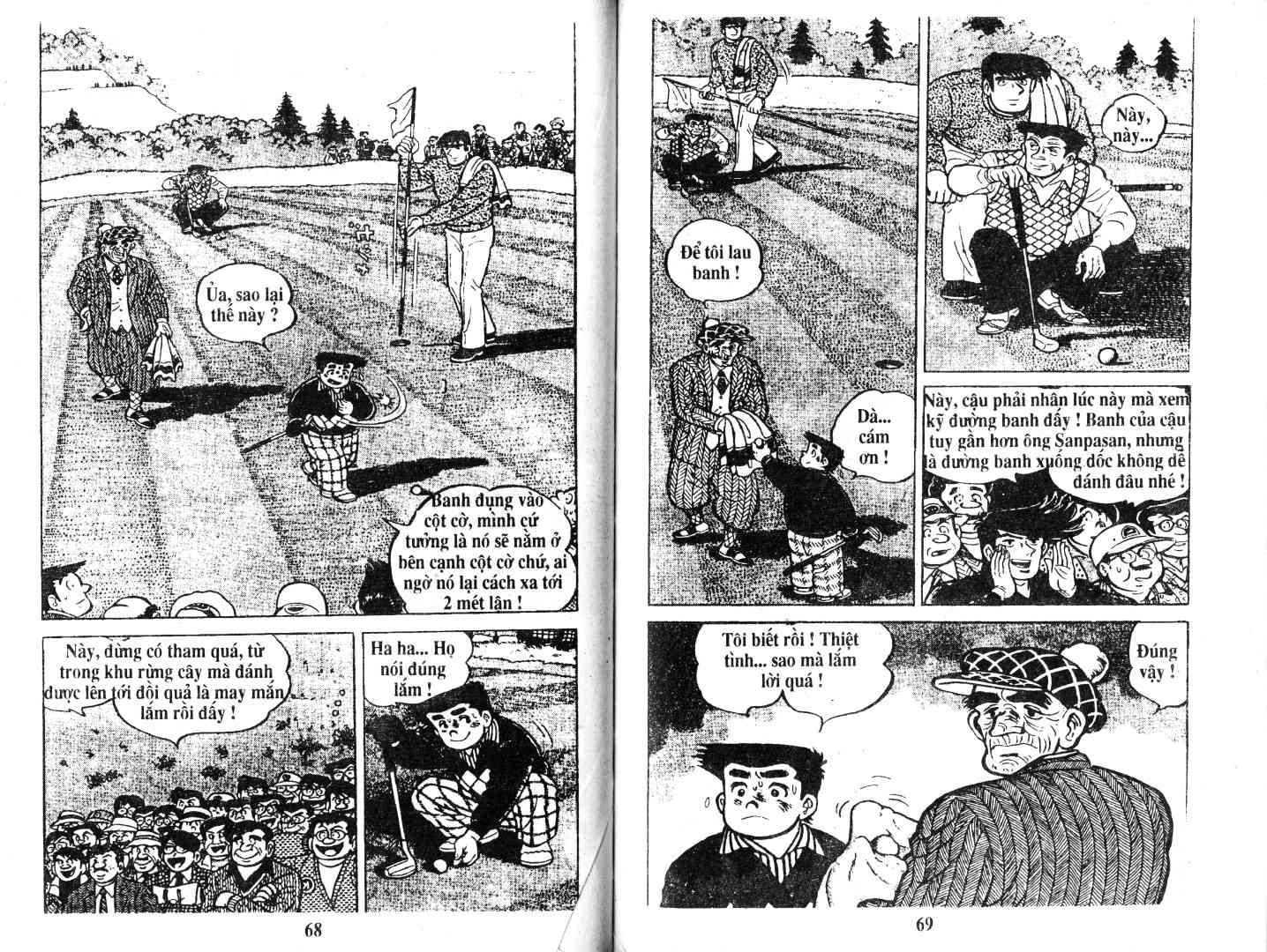 Ashita Tenki ni Naare chapter 52 trang 33
