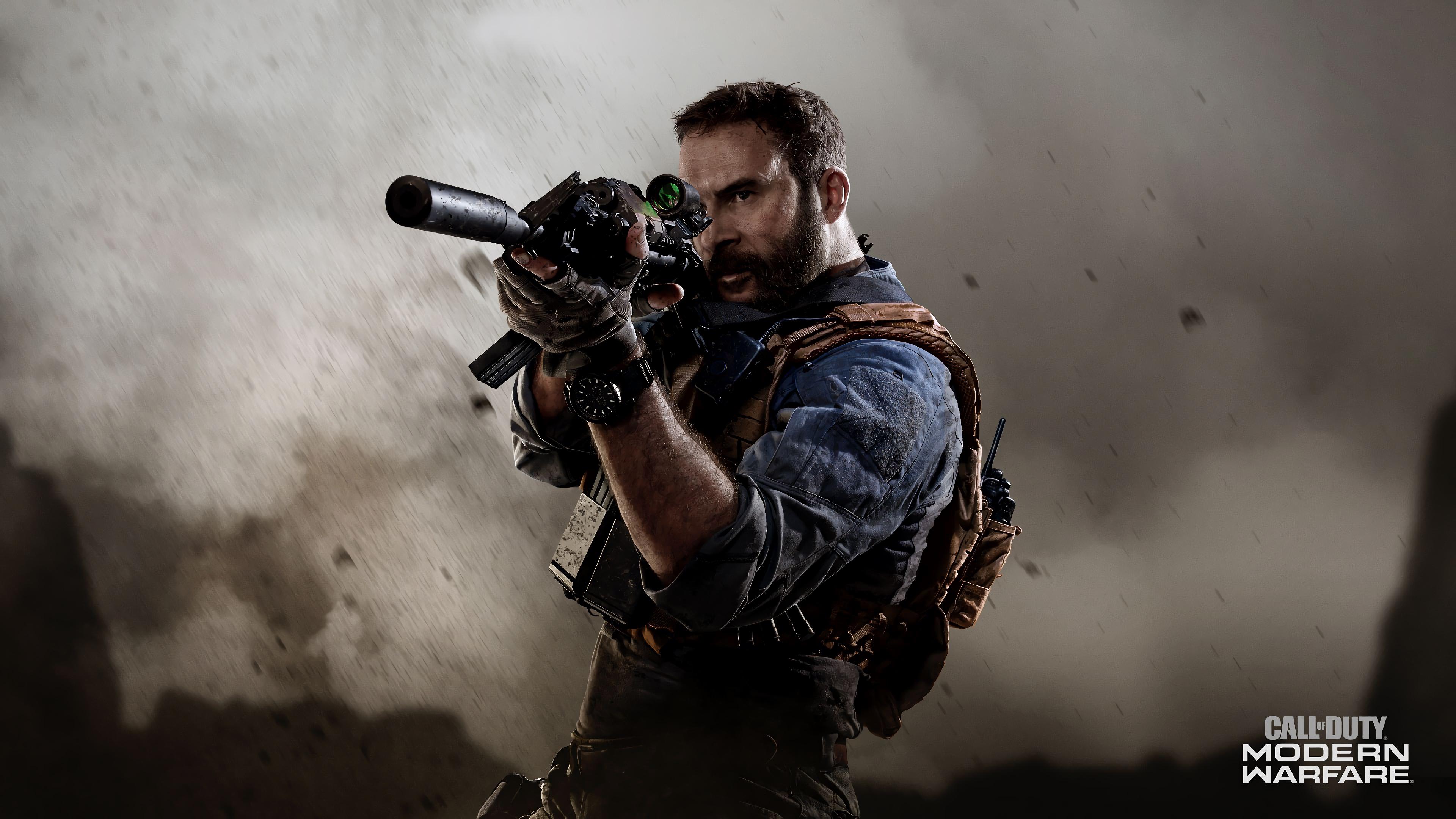 Call Of Duty Modern Warfare Captain Price 4k Wallpaper 9