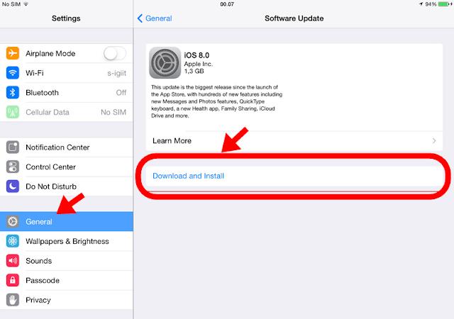 Cara Upgrade Iphone Software Dengan Benar
