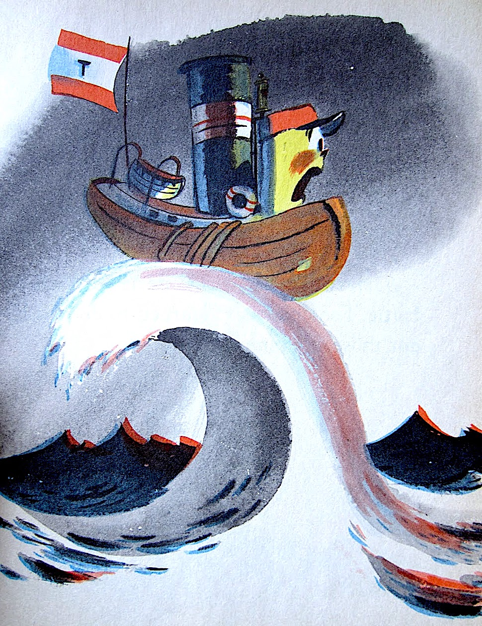 a 1940s children's book by Hardie Gramatky, tugboat