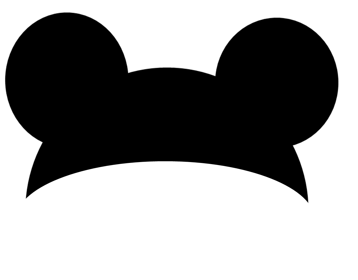 the gallery for  gt  mickey silhouette png mickey ears hat clip art mickey mouse ears hat clip art