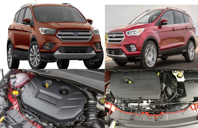 2018 Ford Escape Engine