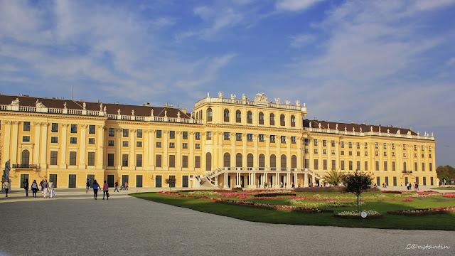 Viena - Palatul Schonbrunn - blog Foto-Ideea