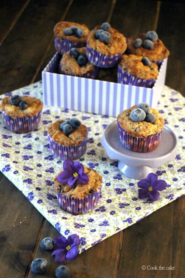 muffins arandanos, arandanos