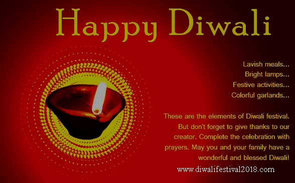 short quotes on diwali in english