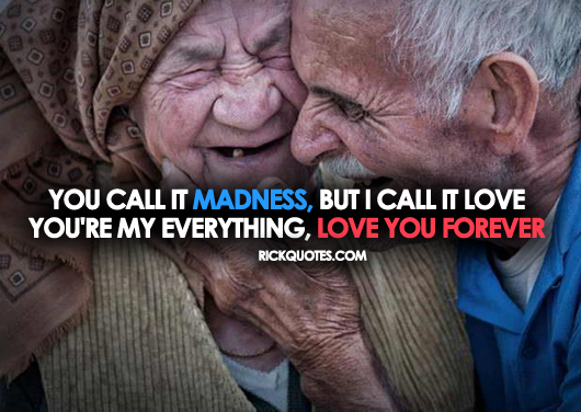 Love Quotes | old Couple Hug Kiss Laugh